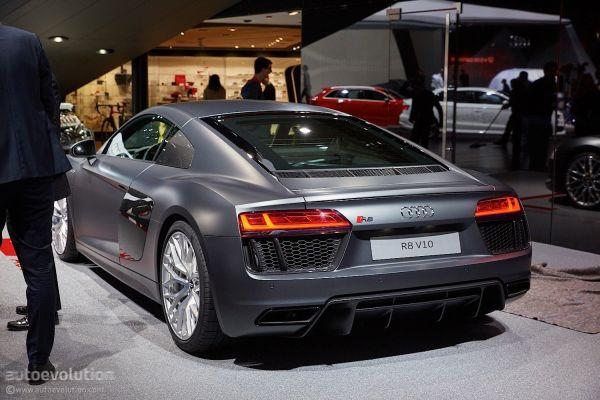 Audi R8 2016 - Rear View