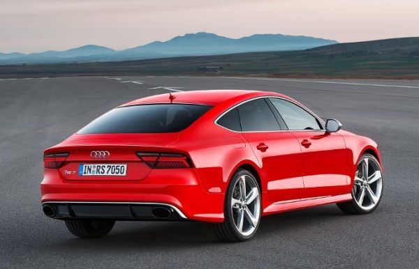Audi RS7 2016 - Rear View