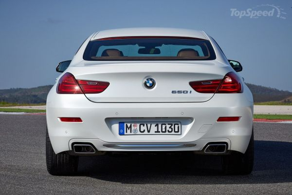 BMW 6-Series Gran Coupe 2016 - Rear View