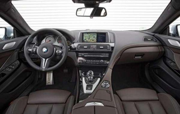 BMW M6 2016 - Interior