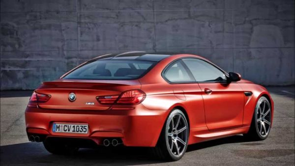 BMW M6 2016 - Rear View