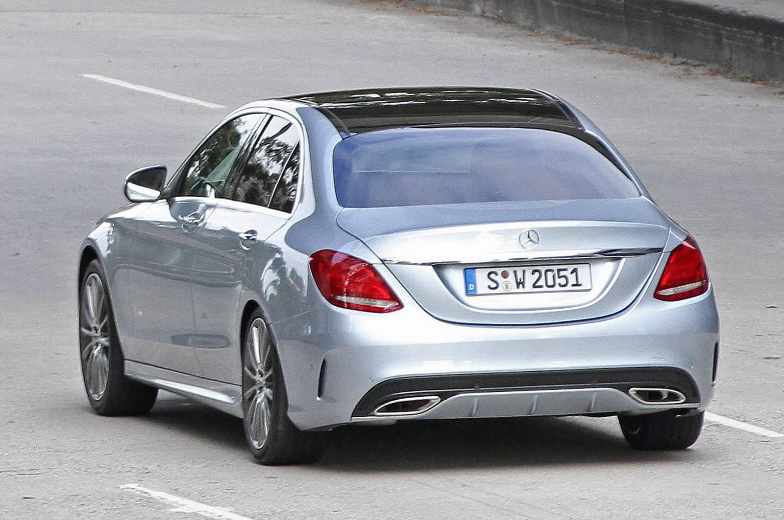 2015 mercedes benz c class sedan review msrp mpg for Mercedes benz mpg