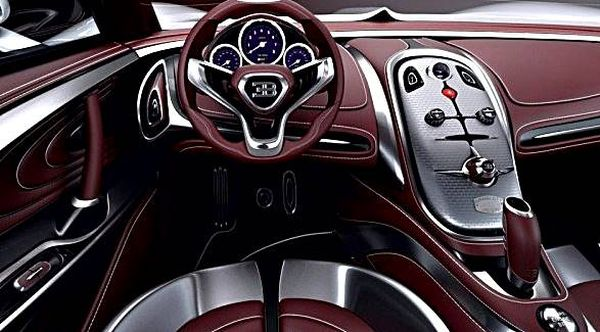 Bugatti Chiron 2017 - Interior