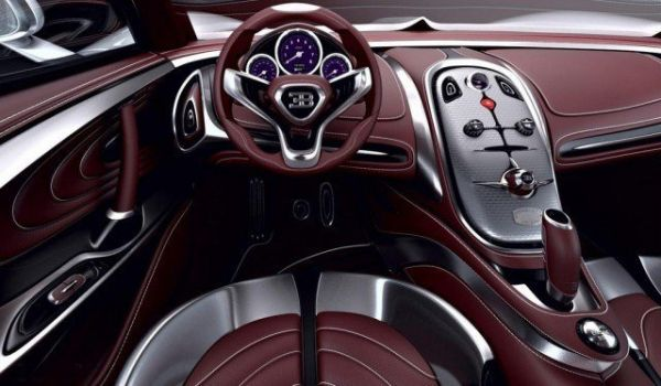 Bugatti Chiron 2018 - Interior