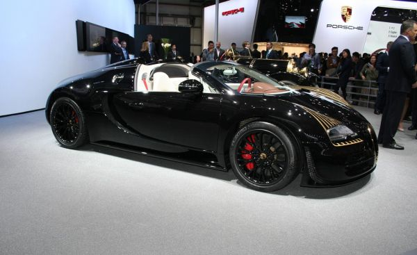 2016 Bugatti Veyron - Side View