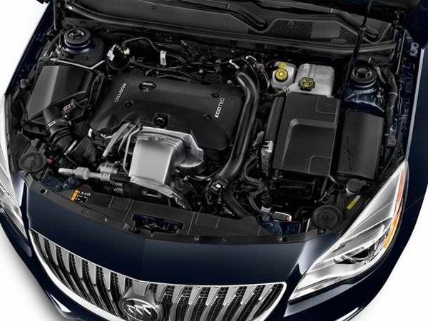 Buick Regal GS Engine - 2015