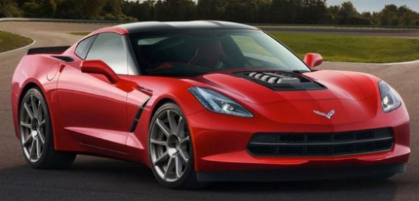 2015 Callaway Corvette - Front Side View