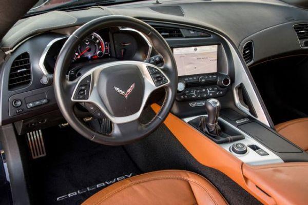 2015 Callaway Corvette - Interior