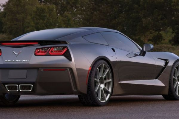 2015 Callaway Corvette - Side and Rear