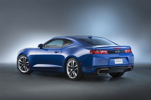 2016 Chevrolet Camaro Hyper - Rear View