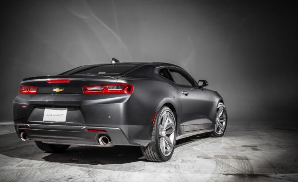 Chevrolet Camaro SS 2016 Rear View