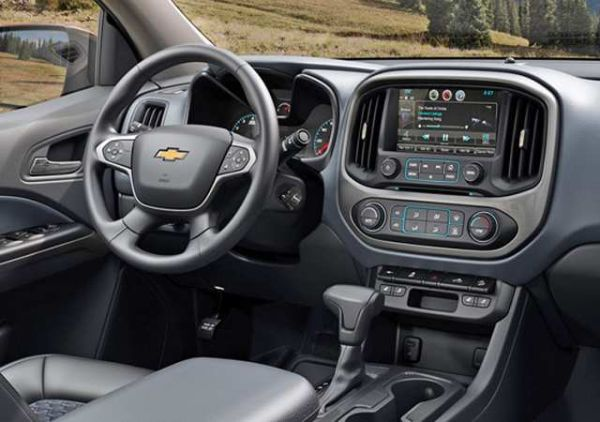 Chevrolet Colorado 2016 - Interior