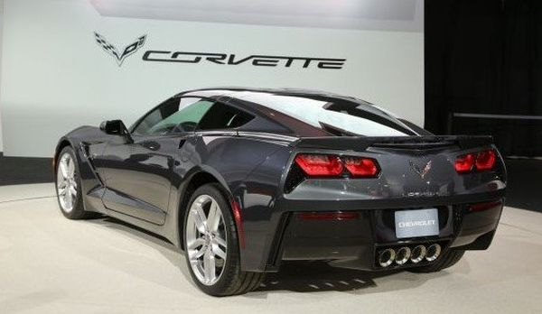 2016 Chevrolet Corvette Stingray - Rear View