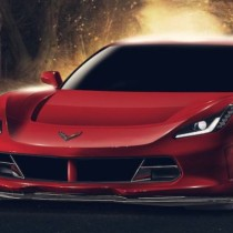 2015 Chevrolet Corvette Z06 Front View