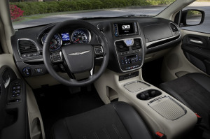 2015 Chrysler Town and Country Minivan Interior