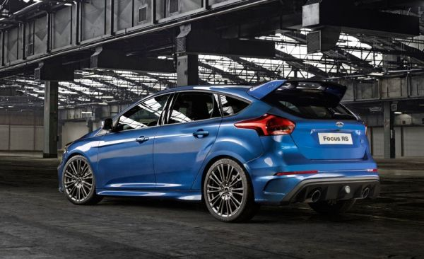 2016 Ford Focus RS - Rear View