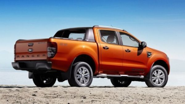 2018 Ford Ranger - Rear View