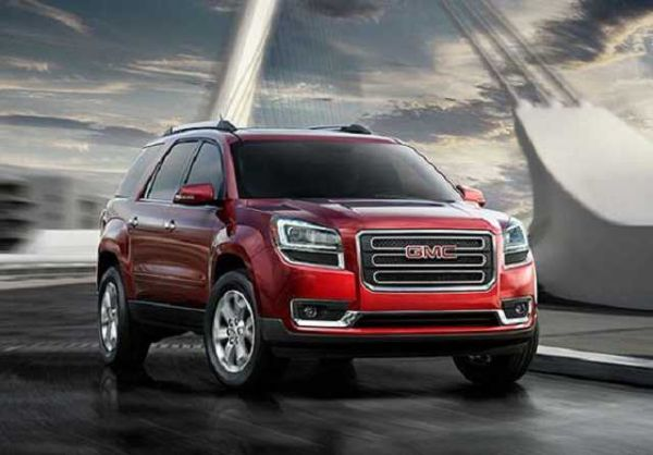 2016 gmc acadia denali colors price release date. Black Bedroom Furniture Sets. Home Design Ideas