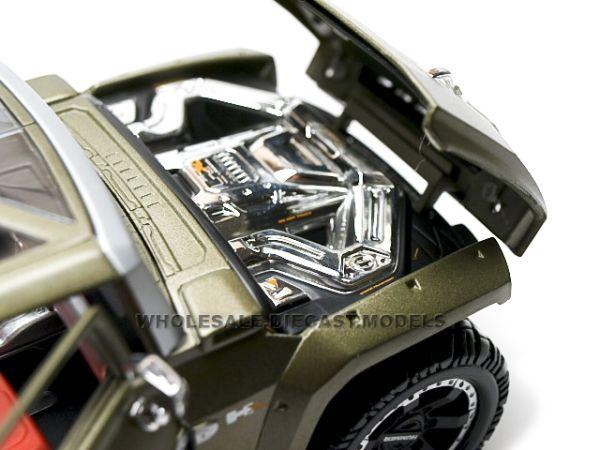 Hummer HX Concept 2015-Engine