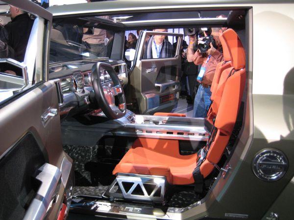 Hummer HX Concept 2015 - Interior