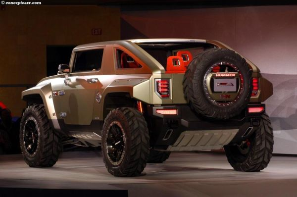 Hummer HX Concept 2015 - Rear View