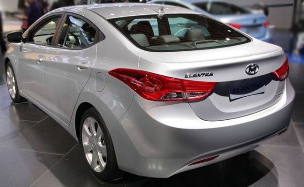 2017 Hyundai Elantra - Rear View