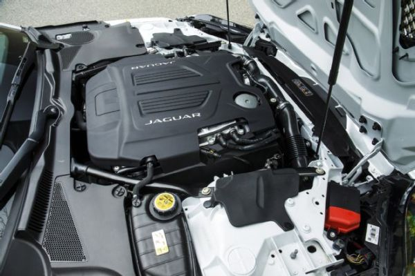 Jaguar F-Pace 2016 - Engine