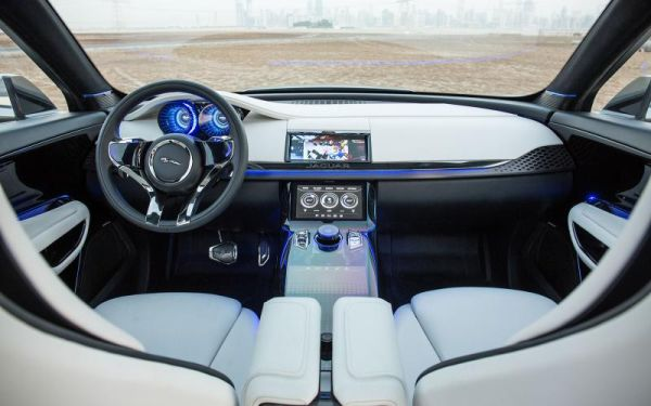 Jaguar F-Pace 2016 - Interior
