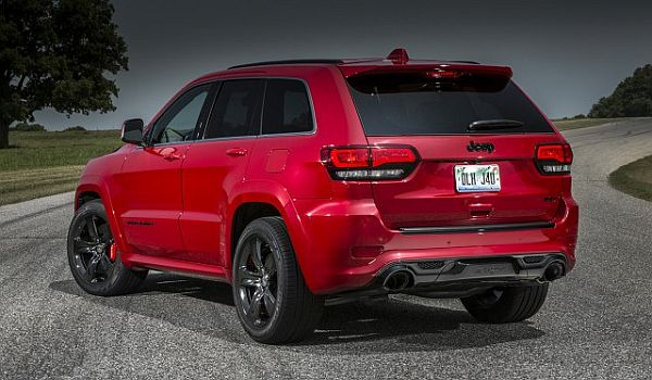 2017 Jeep Grand Cherokee Trackhawk - Rear View