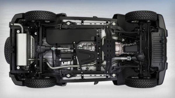 Jeep Wrangler 2018 - Below