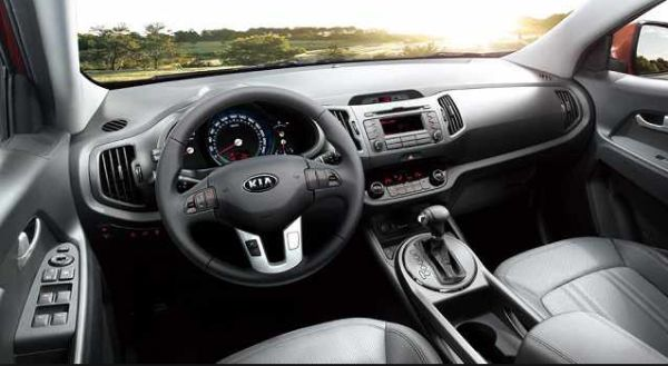 kia sportage 2015 interior car price news. Black Bedroom Furniture Sets. Home Design Ideas
