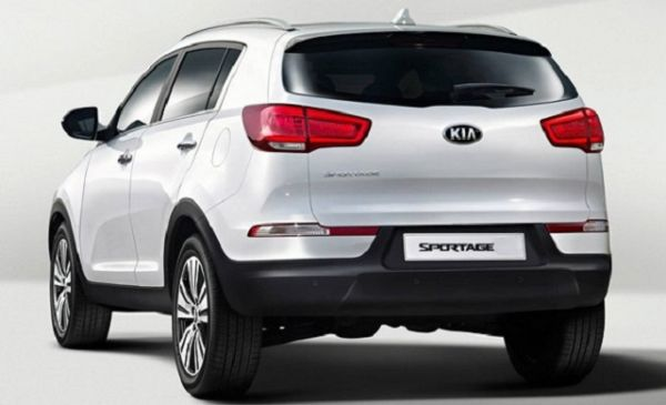 Kia Sportage 2015 - Rear View