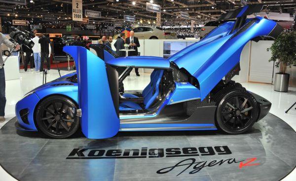 Koenigsegg Agera 2016 - Side View