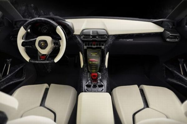 Lamborghini Huracan 2016 - Interior