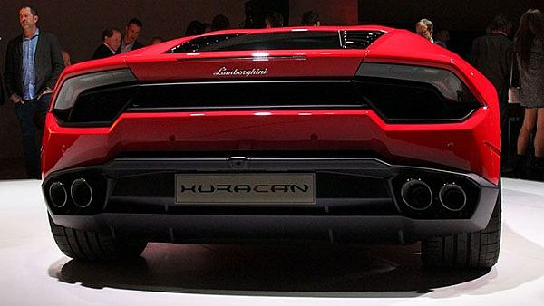 Lamborghini Huracan LP 580-2 2016 - Rear View