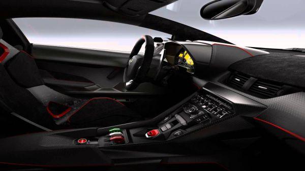 Lamborghini Veneno 2016 - Interior