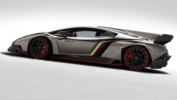 Lamborghini Veneno 2016 - Side View
