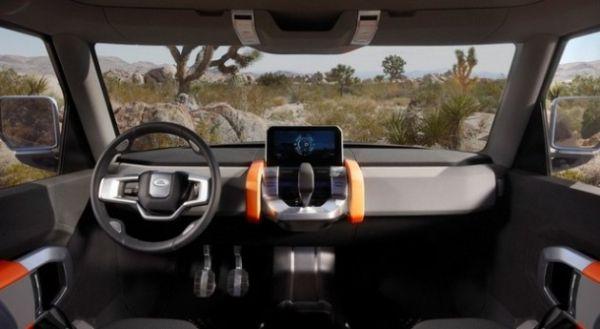 2018 Land Rover Defender - Interior