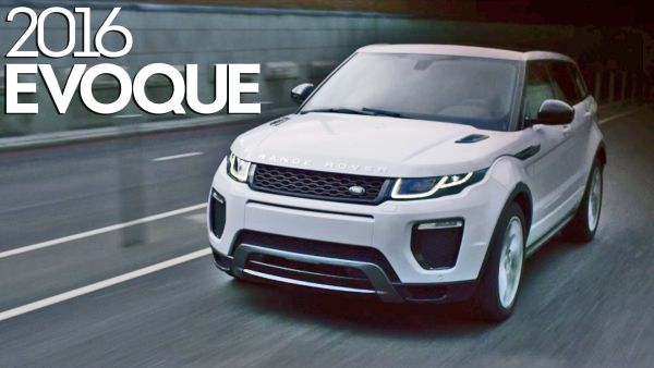 Land Rover Range Rover Evoque 2016 - front