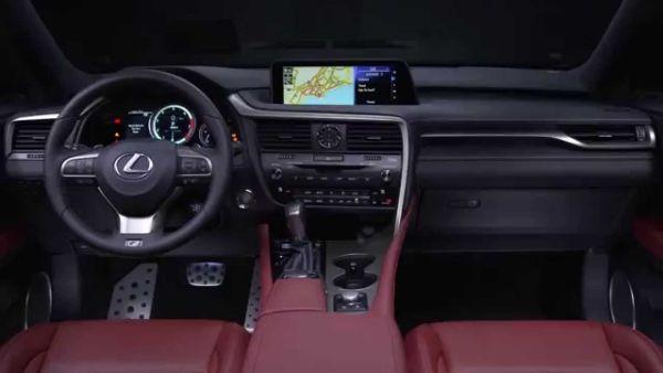 Lexus LX 2016 - Interior