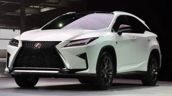 2017 lexus rx 350 450h redesign spy shots 3rd row. Black Bedroom Furniture Sets. Home Design Ideas
