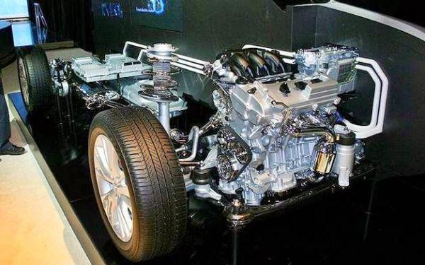 Lexus RX450h 2016 - Engine