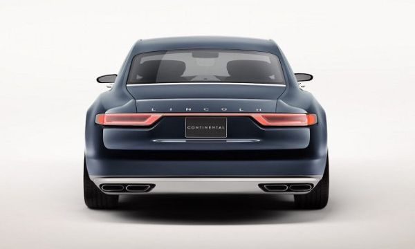 2017 Lincoln Continental - Rear View