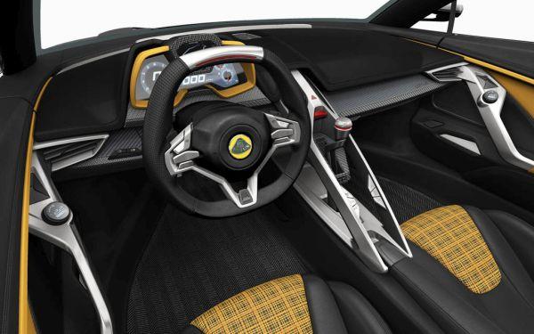 Lotus Elise 2016 - Interior