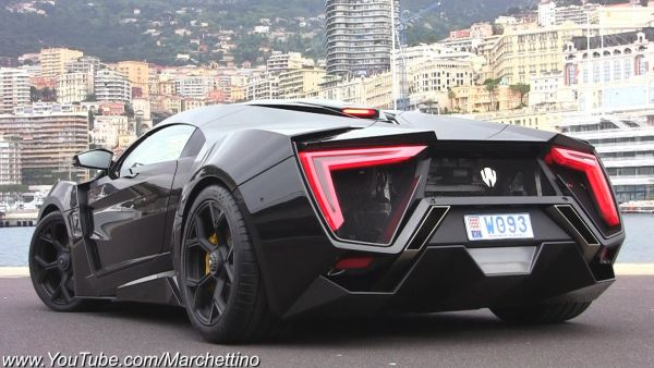 Lykan HyperSport - 2015 Rear View