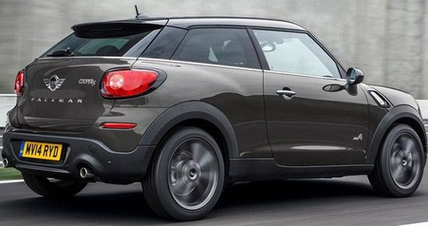 2015 MINI Paceman - Side and Rear View