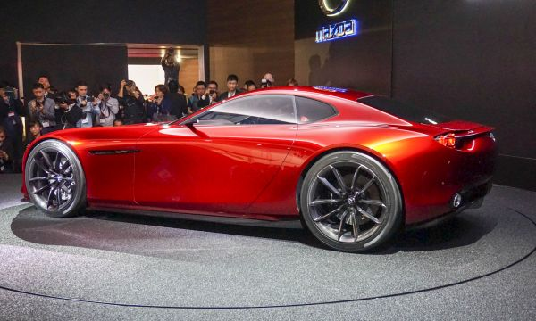 2017 Mazda RX-Vision Concept - Side View