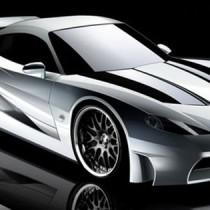 Mazda RX7 Concept 2017 side view
