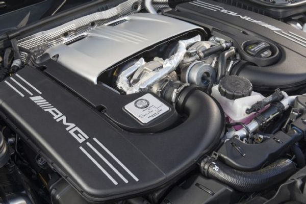 2017 Mercedes-AMG C63 - Engine
