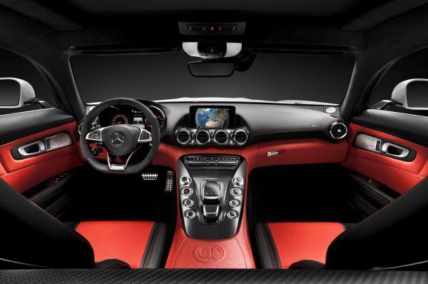 2016 Mercedes AMG GT3 - Interior